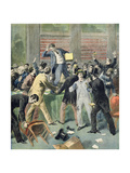 Election of the New President, from the Illustrated Supplement of 'Le Petit Journal', 9th July 1894 Giclee Print by Frederic Lix