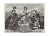 Paris Fashions for May Giclee Print by Frederic Theodore Lix
