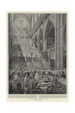 The Inthronisation of the King Giclee Print by Frederic De Haenen
