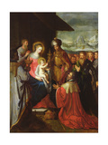 The Adoration of the Magi, C.1620 Giclee Print by Frans The Elder Francken