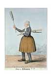 Buy a Broom!!, 1825 Giclee Print by George Cruikshank