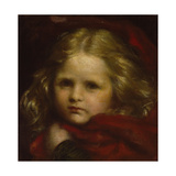 Little Red Riding Hood, 1864 Giclee Print by George Frederick Watts