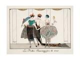 Les Belles Sauvagesses De 1920 Giclee Print by Georges Barbier