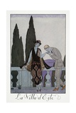 Villa D'Este Near Florence Giclee Print by Georges Barbier