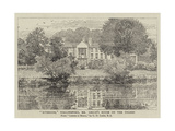 Riverside, Wallingford, Mr Leslie's House on the Thames Giclee Print by George Dunlop Leslie