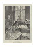 Love Me, Love My Cat Giclee Print by Gaston De La Touche