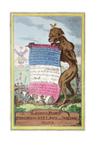 The Genius of France, 4th April 1815 Giclee Print by George Cruikshank