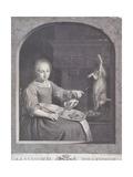La Cuisiniere Hollandoise Giclee Print by Gabriel Metsu