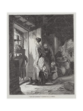 The Tax-Gatherer Giclee Print by George Bernard O'neill