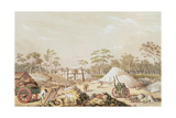 Kapunda Coppermine from the 'South Australia Illustrated', C.1846 Giclee Print by George French Angas