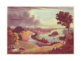 Richmond, Virginia, Engraved by William James Bennett Giclee Print by George Cooke