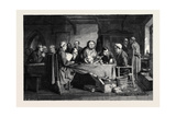 The Foundling, in the National Gallery South Kensington Museum Giclee Print by George Bernard O'neill