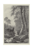 Dawn in the Forest Giclee Print by Frederick William Hayes