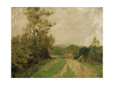 Scene on Otmoor, 1912 Giclee Print by George Carline