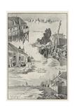 A Dutch Fishing Village Volendam Giclee Print by George Charles Haite