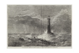 The Lighthouse Giclee Print by George Clarkson Stanfield