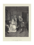 A Visit to the Dentist Giclee Print by George Adolphus Storey
