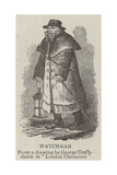 Watchman Giclee Print by George Cruikshank
