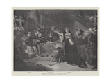 The Trial of Queen Katharine in Shakspere's Henry VIII Giclee Print by George Henry Harlow