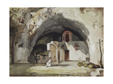 Ruins of the Church of Santa Maria Dell'Olearia Giclee Print by Giacinto Gigante