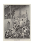 Gordon's Last Stand, Khartoum, 26 January 1885 Giclee Print by George William Joy