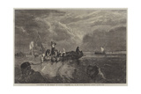 Market-Boat on the Scheldt Giclee Print by George Clarkson Stanfield