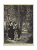 The Course of True Love Never Did Run Smooth Giclee Print by George Adolphus Storey