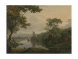 River Landscape, 1773 Giclee Print by George the Elder Barret