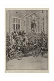 The Queen's Visit to Bristol Reproduction procédé giclée par Frederic De Haenen