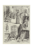 Sketches from Antony and Cleopatra, at the Princess's Theatre Giclee Print by Frederick Pegram