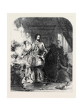 Scene from the Life of the Duc De Biron Giclee Print by George Lance