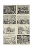 Humorous Art at the Royal Naval Exhibition Giclee Print by George Cruikshank