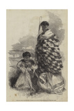 Munga-Kahu, Chief of Roto-Aire Lake, with Ko-Mari His Wife Giclee Print by George French Angas
