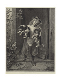Troublesome Twins Giclee Print by George Augustus Holmes