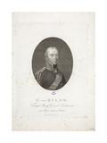 Friedrich Wilhelm Bülow Von Dennewitz, C.1814 Giclee Print by Friedrich Wilhelm Bollinger