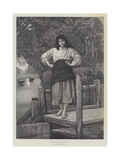 The Miller's Daughter Giclee Print by George Adolphus Storey