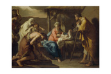 The Adoration of the Shepherds, Post 1798 Giclee Print by Gaetano Gandolfi