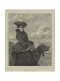The Whip Hand Giclee Print by George Adolphus Storey
