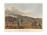 Review of the British Troops at Montmatre [Sic] Giclee Print by George The Elder Scharf