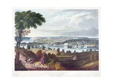 City of Washington from Beyond the Navy Yard, by William James Bennett (1787-1844) C.1834 Giclee Print by George Cooke
