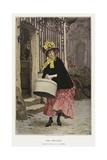 The Milliner Giclee Print by Frederik Hendrik Kaemmerer