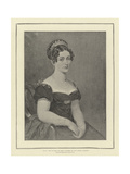 HRH the Duchess of Kent, Mother of H M Queen Victoria Giclee Print by George Dawe