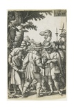 Joseph Sold to the Ishmaelites, 1546 Giclee Print by Georg Pencz