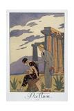Paestum Giclee Print by Georges Barbier