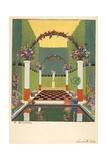 La Salle Verte, Pub. Paris 1919 Giclee Print by Georges Barbier