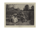 Love in a Maze Giclee Print by George Adolphus Storey
