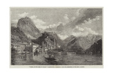 Loggio, on the Lake of Lugano Giclee Print by George Clarkson Stanfield