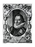 William Austin in the Title Page to His 'Meditations', 1635 Giclee Print by George Glover