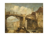 Old Bridge Giclee Print by George Balmer