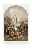 Joan of Arc at the Stake, 30 May 1431, 1861 Giclee Print by Frederic Legrip